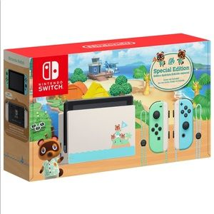 Nintendo Switch Animal Crossing Special Ed…